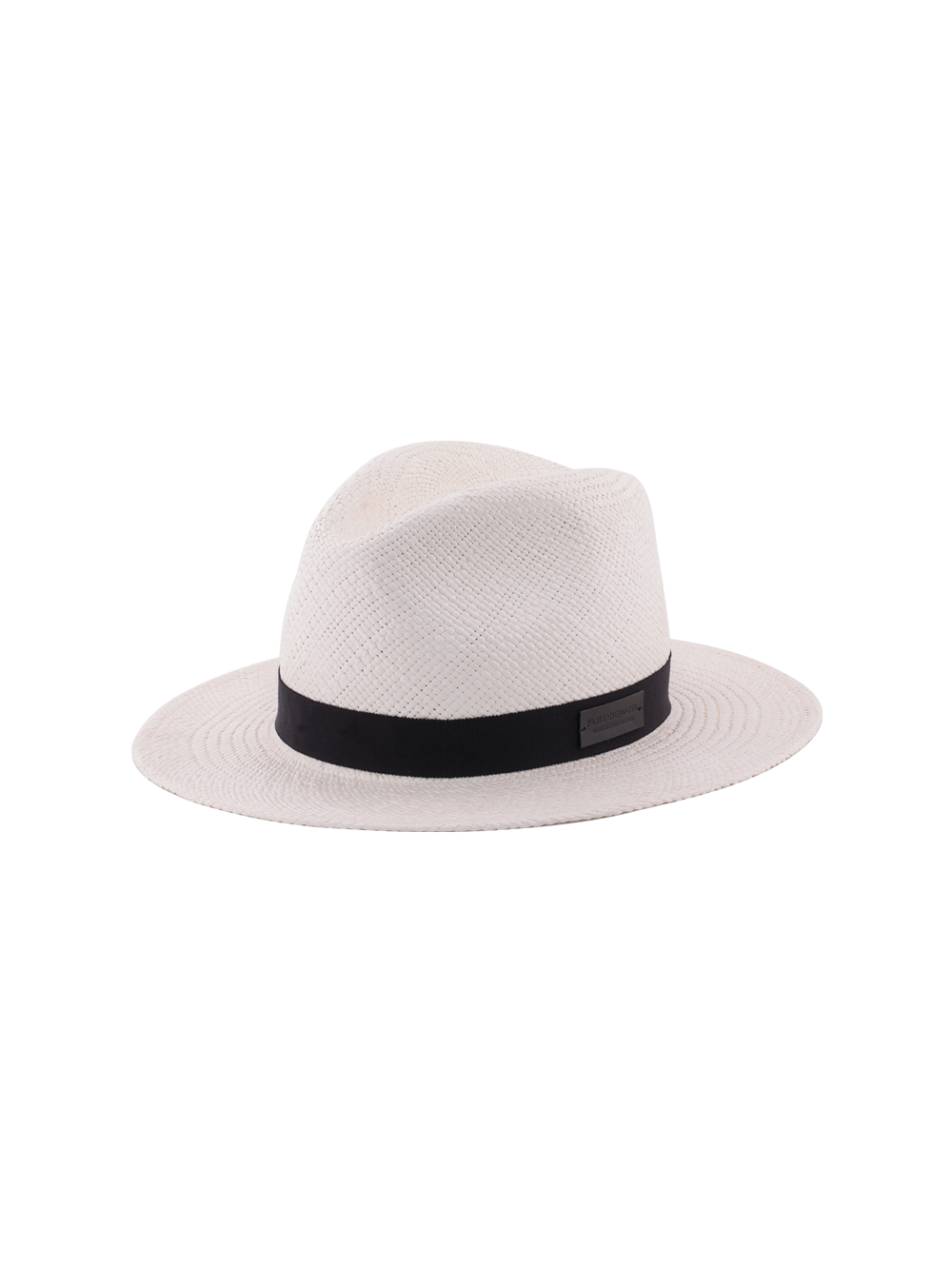 White Fedora - Panama Hat - Paris+Hendzel Handcrafted Goods 38a7c9a1927